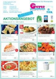 AKTIONSANGEBOT - Geyer Food Konzept, Fresh-Food-Shop