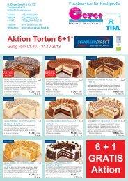 6 + 1 GRATIS Aktion - Geyer Food Konzept, Fresh-Food-Shop