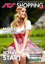 Ausgabe 5/2013 - Shopping-Intern
