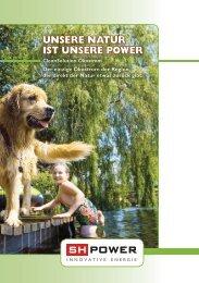 unsere natur ist unsere power - Städtische Werke Schaffhausen und ...