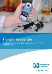 PDF Handrefraktometer - SI Analytics GmbH