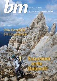 Escursioni nelle Dolomiti - Bolzano