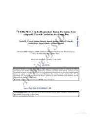 18f-fdg pet/ct in the diagnosis of tumor thrombus from anaplastic ...