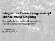 4. Bürgerforum - Präsentation (pdf ) - Siegburg