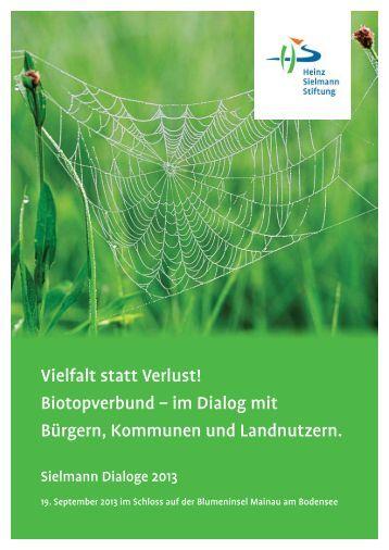 Vielfalt statt Verlust! - Heinz Sielmann Stiftung