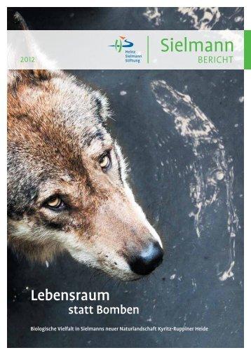 Jahresbericht 2012 (PDF: 2 MB) - Heinz Sielmann Stiftung
