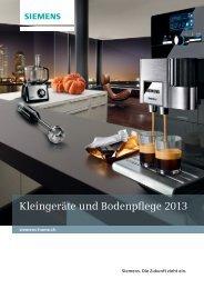 Download Prospekt Kleingeräte und Bodenpflege - Siemens Home ...