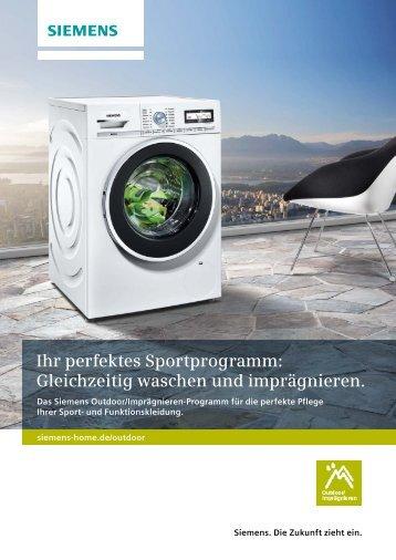 Ihr perfektes Sportprogramm - Siemens Hausgeräte