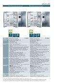 Kühlen und Gefrieren in neuer Dimension. - Siemens - Page 5