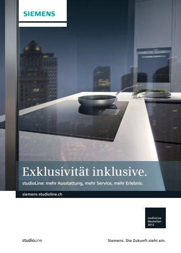 Exklusivität inklusive. - Siemens