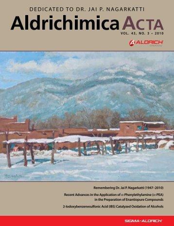 Aldrichimica Acta - Sigma-Aldrich