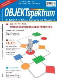 schwerpunkt: moderne programmierpraktiken - SIGS DATACOM