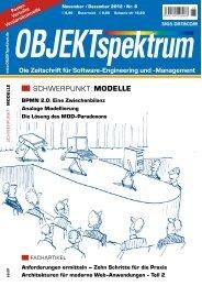SCHWERPUNKT: MODELLE - Sigs-Datacom GmbH