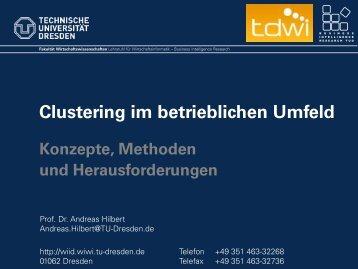 Clustering im betrieblichen Umfeld