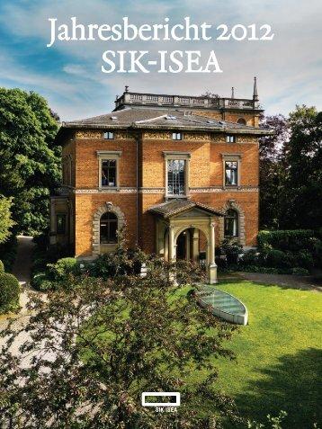 Jahresbericht 2012 SIK-ISEA
