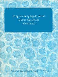 Deep-sea Amphipoda of the - Smithsonian Institution Libraries
