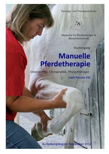 Manuelle Pferdetherapie - silverhorseranch