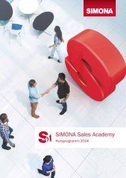Sales Academy 2014 - Simona AG
