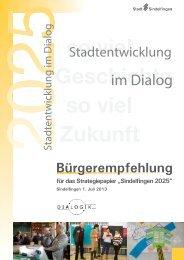 Deckblatt 1 - bei der Stadt Sindelfingen
