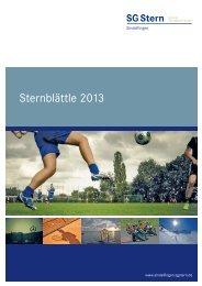 Sternblättle 2013 - SG Stern Sindelfingen