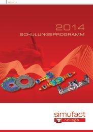 Schulungsprogramm 2014 (PDF 3,4 MB) - simufact