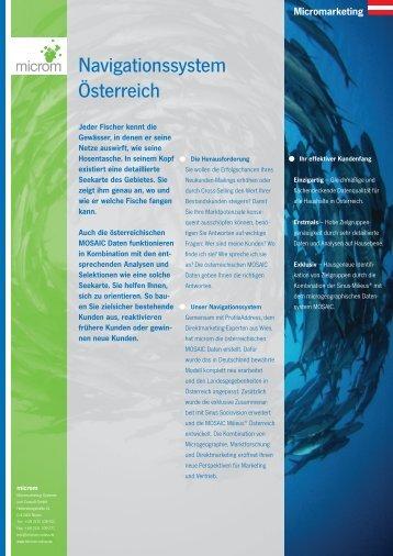 Navigationssystem Österreich - Sinus-Institut