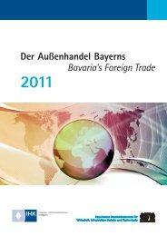 Broschüre - Der Außenhandel Bayerns 2011 - Sisby