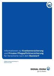 Informationen zur Krankenversicherung und Privaten ...