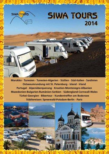 Katalog SIWA-TOURS 2014