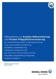 Informationen zur Kranken-Vollversicherung und Privaten ...