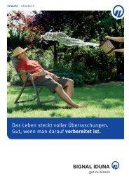 VitaLife Handbuch 37160xx - SIGNAL IDUNA ...