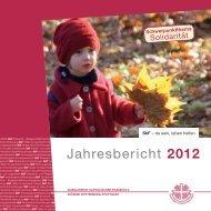 Jahresbericht 2012 - Sozialdienst katholischer Frauen