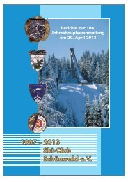 beim Öffnen der Berichte warten 10 MB - Ski-Club Schönwald