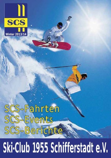 gibt es das SCS-Heft der Saison 2013/14 als Download.