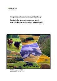 Nasjonalt referansesystem for landskap ... - Skog og landskap
