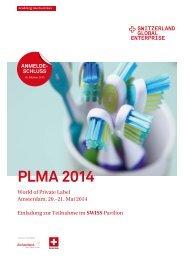 PLMA 2014 - Switzerland Global Enterprise