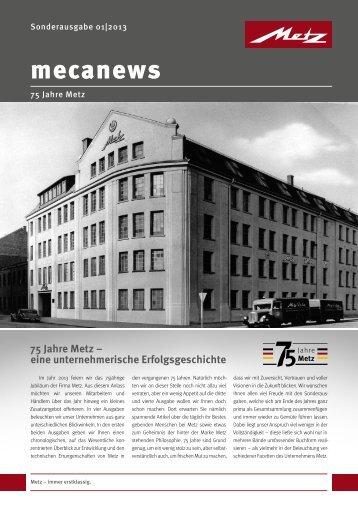 Download mecanews - 75 Jahre Metz Teil 1 - Slach
