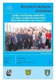 Amtsblatt 20-09 erschienen am 06.11.2009.pdf - Stadt Bitterfeld ...
