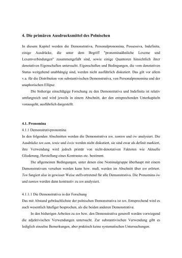 Kapitel 4 - Institut für Slavische Philologie