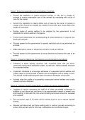 RECOMMENDATIONS FROM ANIMAL WELFARE LEGISLATION ... - Page 7