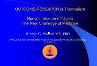 Aktuelle Aspekte der Kurortmedizin