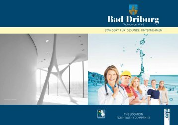 Standortbroschüre Bad Driburg