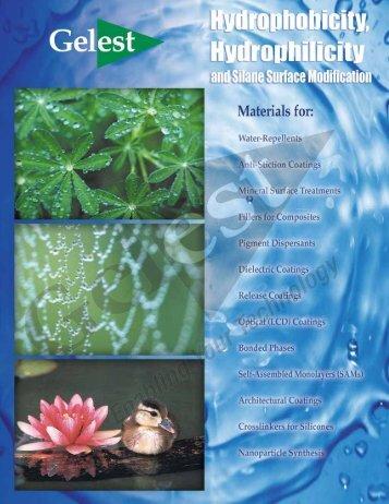 Hydrophobicity - Gelest Inc.