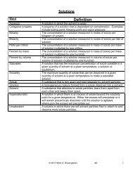 2011 mark rosengarten answer key
