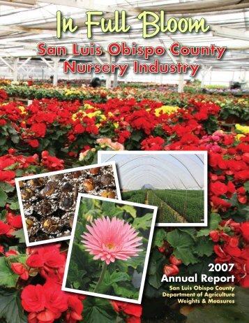 2007 - County of San Luis Obispo