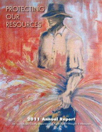 2011 Annual Report - County of San Luis Obispo