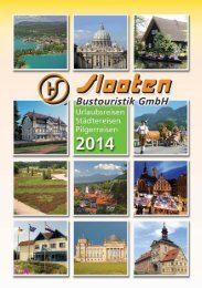 Download Katalog 2014 - Slooten Bustouristik GmbH