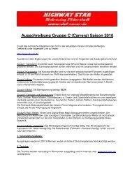 2010 - Reglement Gruppe C Carrera - Slot-Racer.de ...