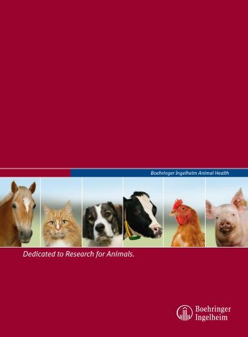 Dedicated to Research for Animals - Boehringer Ingelheim
