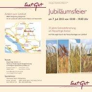 Einladungsflyer zum Download - Slow Food Deutschland eV